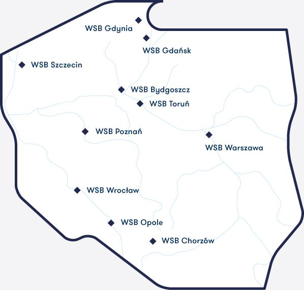 lista uczelni WSB